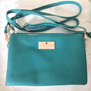 Kate Spade New York Crossbody Purse Turquoise